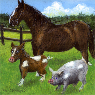 Why Pigs and Horses Shouldn't Cohabitate