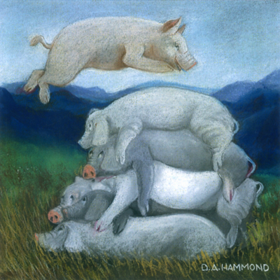 Pig Pile (How Pressed Ham Is Made)