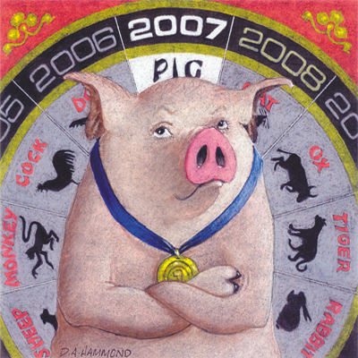 2007, The Year of the Pig