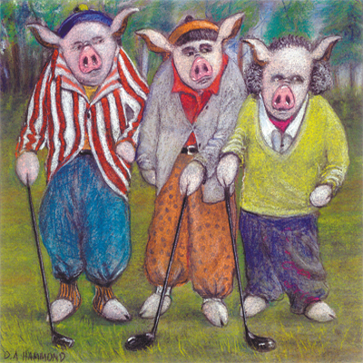 The Three Ham Slicers--Nyuck! Nyuck!